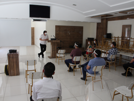 Gaziantep B.B. ile COVID-19 tedbirleri kapsamında ekip arkadaşlarımıza bilgilendirme yapıldı.