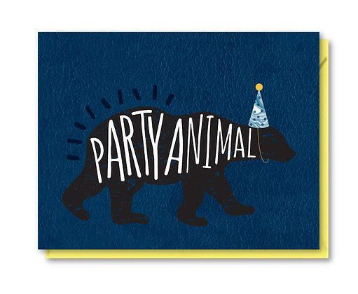 BDAY019 - party animal
