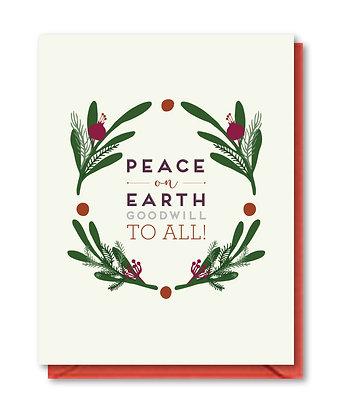 HOL001 - peace on earth