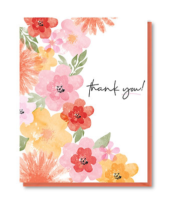 TY007 - watercolor floral
