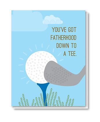 DAD001 - golf tee