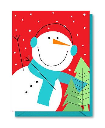 HOL005 - happy snowman