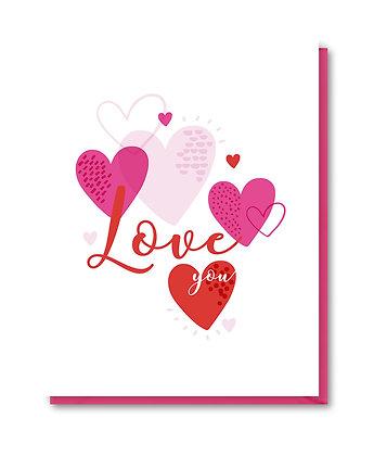 LOVE004 - love you hearts