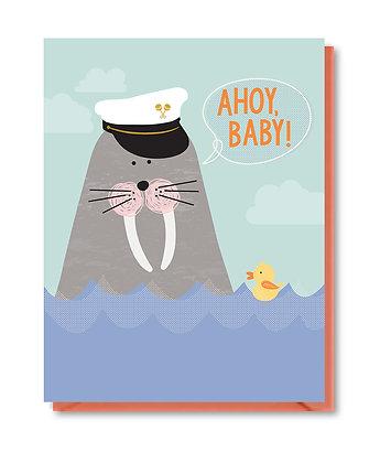 BABY013 - ahoy baby