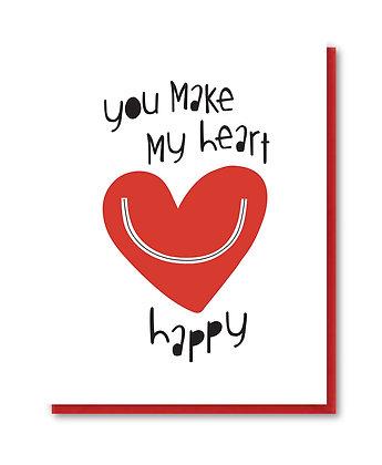 LOVE001 - happy heart