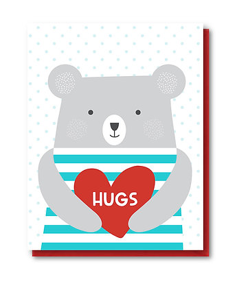 LOVE005 - bear hugs