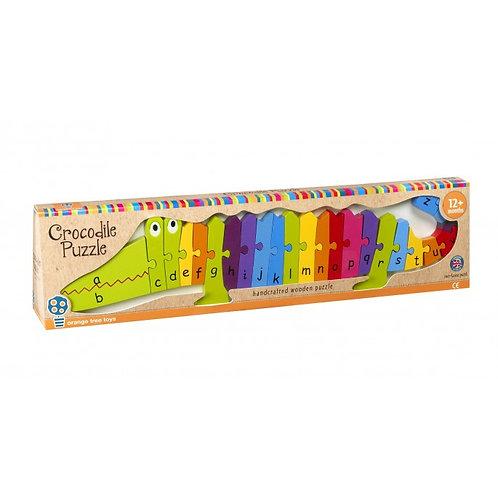 Orange Tree Toys - Crocodile Alphabet Puzzle