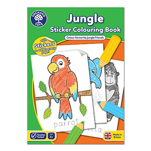 Orchard Toys - Educational Colour/Sticker Book