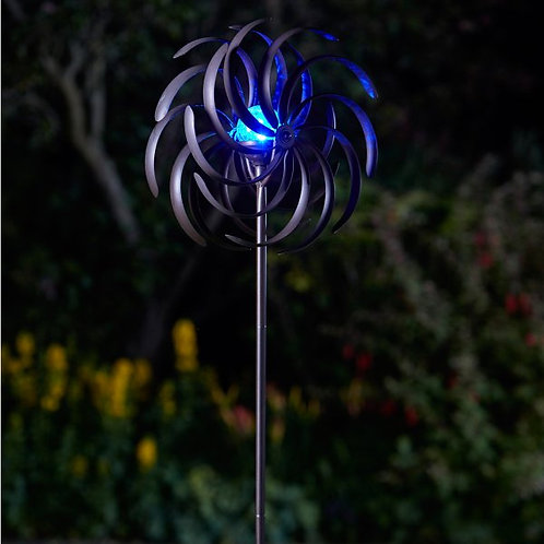 Spiro Illuminated Wind Spinner - solar