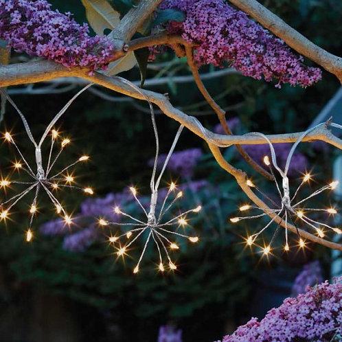 10 Starburst String Lights -solar