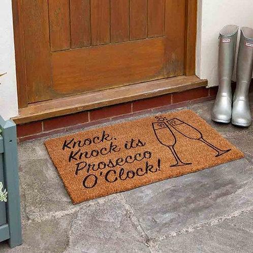 Prosecco Time Doormat