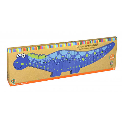 Orange Tree Toys - Dinosaur Alphabet Puzzle