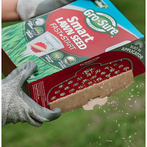 Gro-Sure Smart Fast Start Lawn Seed 40m2