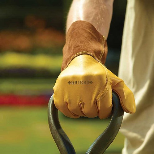 Briers Ultimate Golden Leather Gauntlet - Large