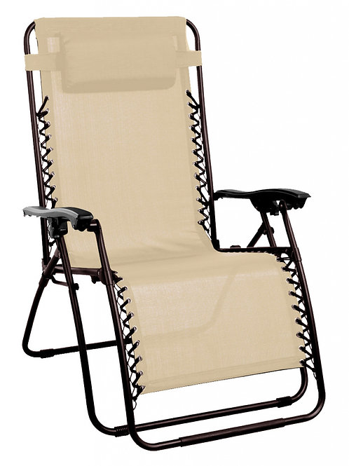 SupaGarden Zero Gravity Chair Beige