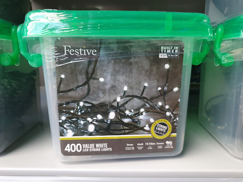 400 LED String Lights