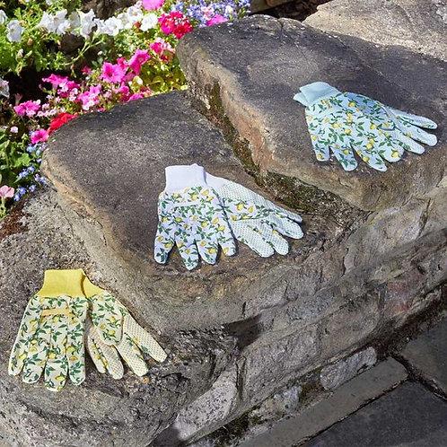 Briers Gloves - Sicilian Lemon Cotton Grips (triple pack)