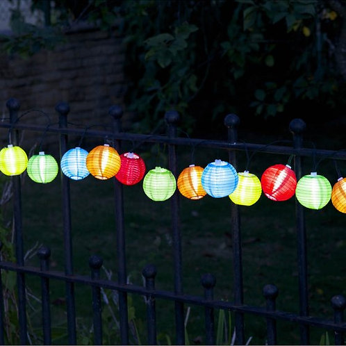 Solar Chinese Lantern String Light