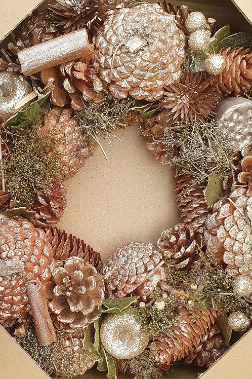 Gold Shimmer Wreath