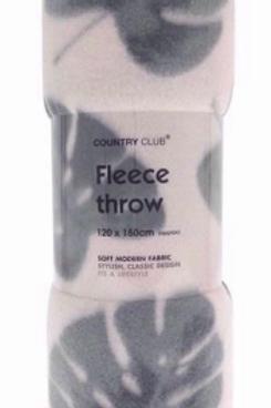 Plantation Fleece Throw