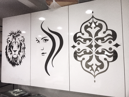Sign Fabrication, Intricate Designs with the Help of Laser Beam