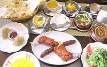 マハラジャコース料理