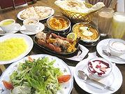 タージマハルコース料理