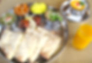 タージマハルチーズナンセット