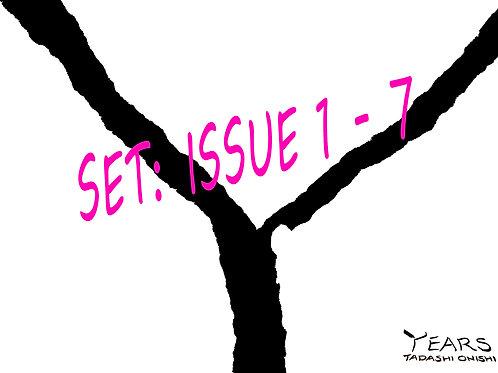 YEARS 1~7(1~7月号)セット