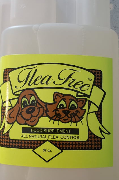 Flea Free Food Supplement, Self-Measuring