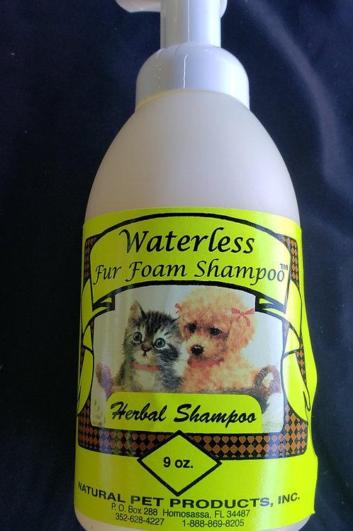 Waterless Foam Shampoo