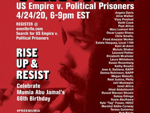 Wish Mumia a Happy Birthday and Organize to Get Him Free