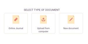 type of document