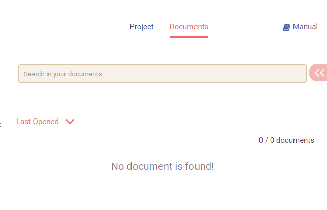 documents panel