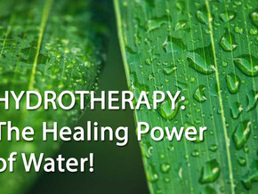The Healing Power of Water Through Hydrotherapy