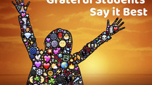 TCS Students Share What They're Grateful For