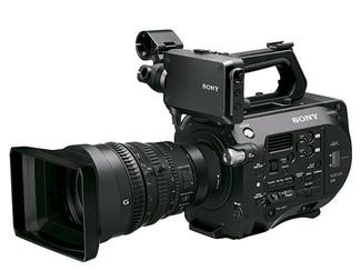 Nova càmera Sony PXW-FS7, 4k