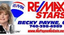 Becky Payne of Remax Stars Returns as a 2015 Track Sponsor