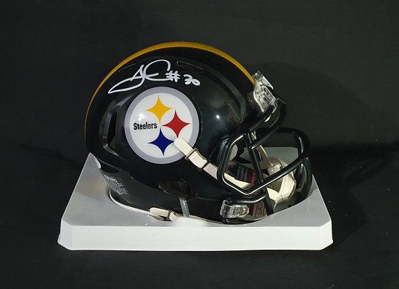 James Conner - Pittsburgh Steelers - Mini Speed Helmet