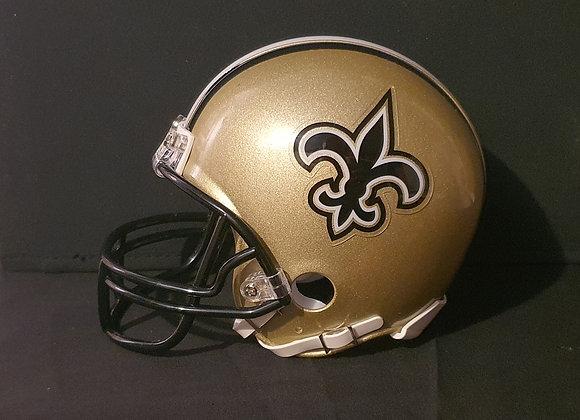 Unsigned - New Orleans Saints - Mini Replica Helmet (Unboxed)