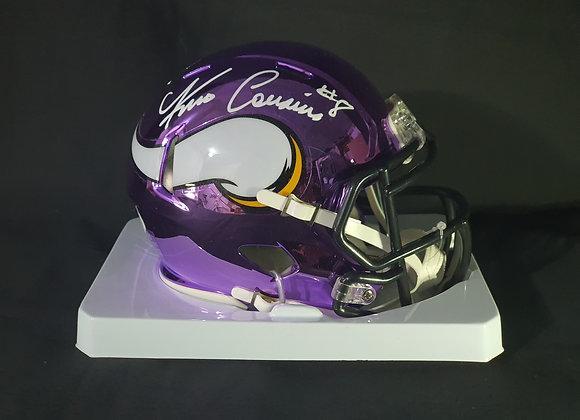 Kirk Cousins - Minnesota Vikings - Mini Chrome Helmet