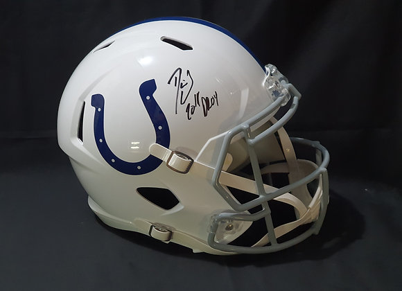 Darius Leonard - Indianapolis Colts - Full Size Speed Helmet