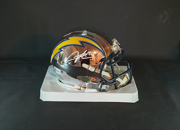 LaDainian Tomlinson - Los Angeles Chargers - Mini Chrome Helmet
