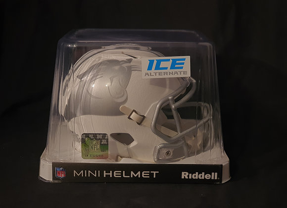 Unsigned - Carolina Panthers - Mini Ice Helmet