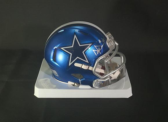 Dak Prescott - Dallas Cowboys - Mini Blaze Helmet