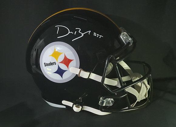 Devin Bush - Pittsburgh Steelers - Full Size Speed Helmet
