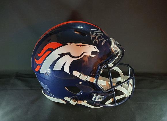Peyton Manning - Denver Broncos - Full Size Authentic Helmet