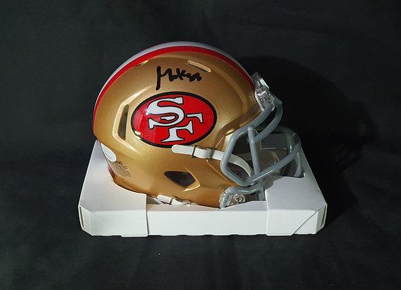 George Kittle - San Francisco 49ers - Mini Speed Helmet