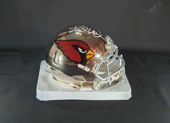 Kurt Warner - Arizona Cardinals - Mini Chrome Helmet