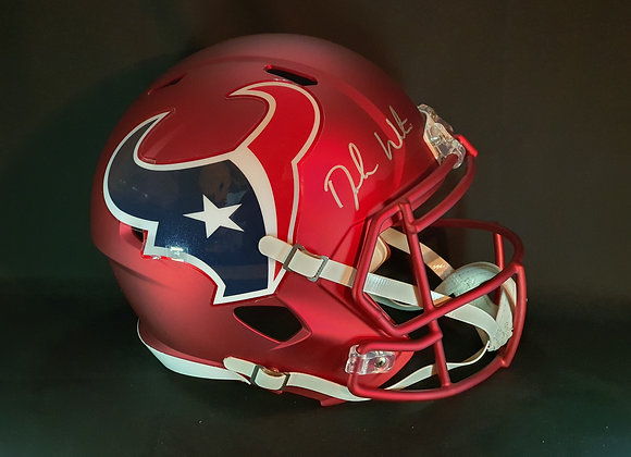 Deshaun Watson - Houston Texans - Full Size Blaze Helmet